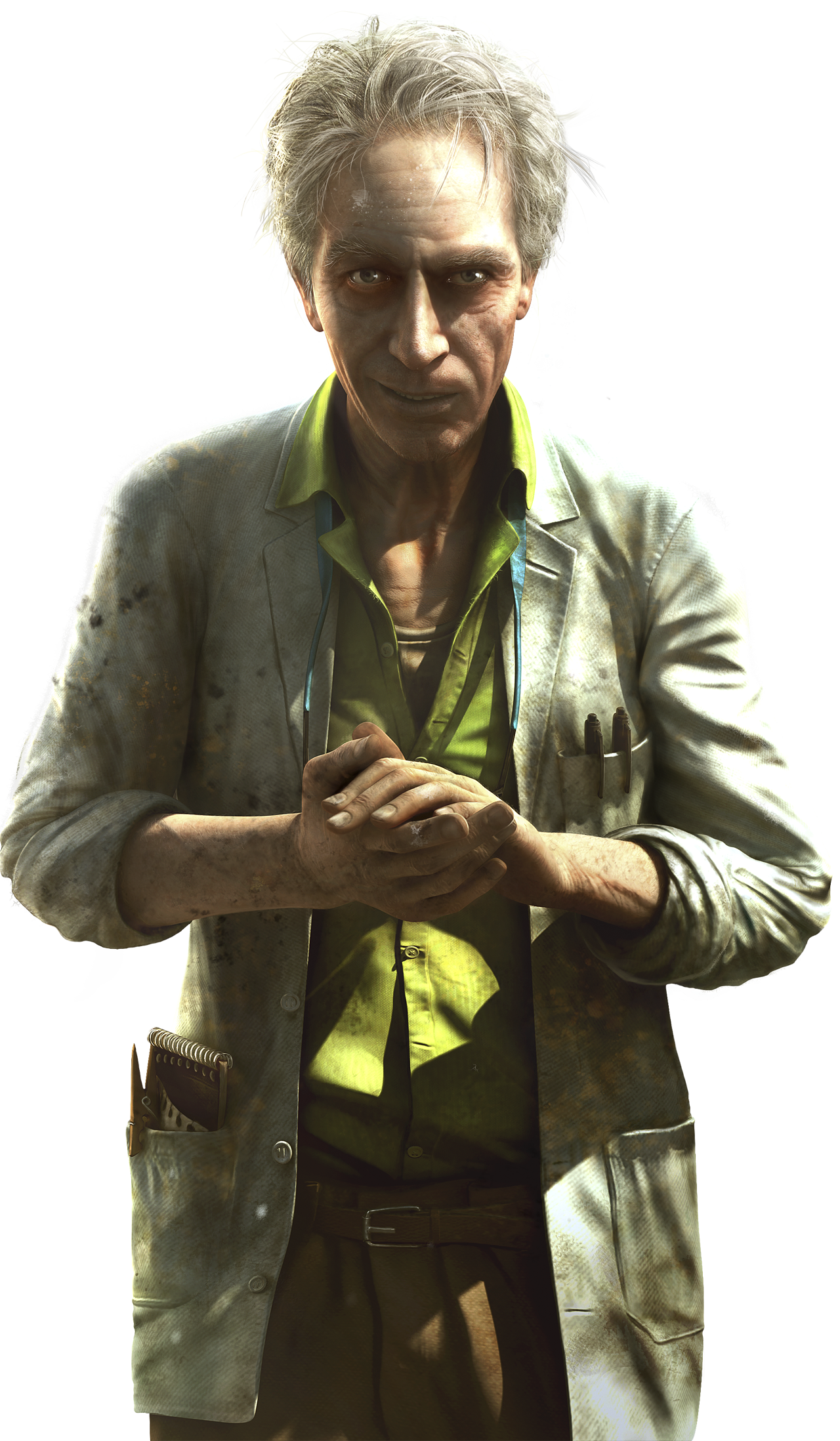 FC3 Doctor Render.png - Farcry HD PNG