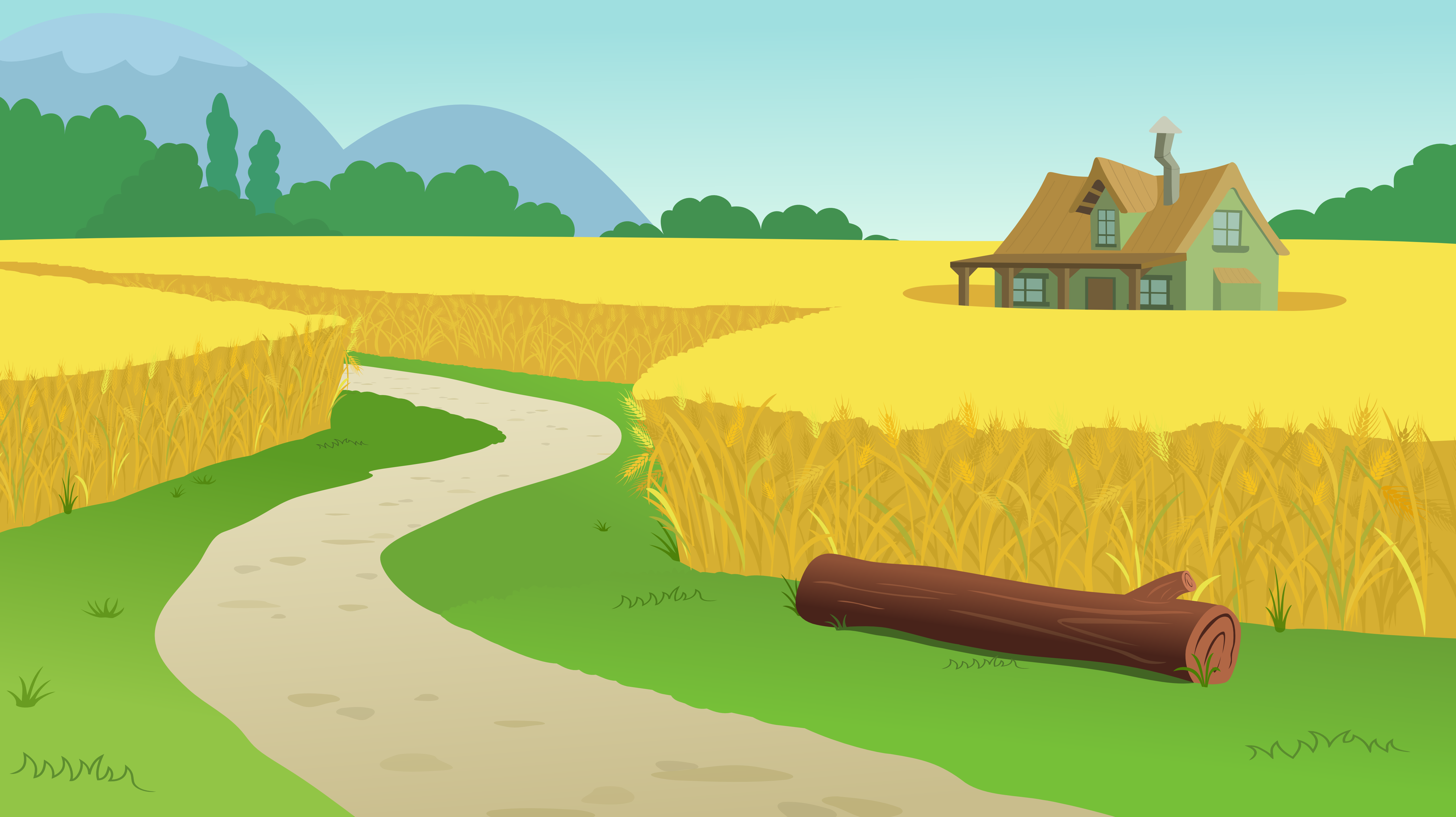 Farm Background PNG - 158126