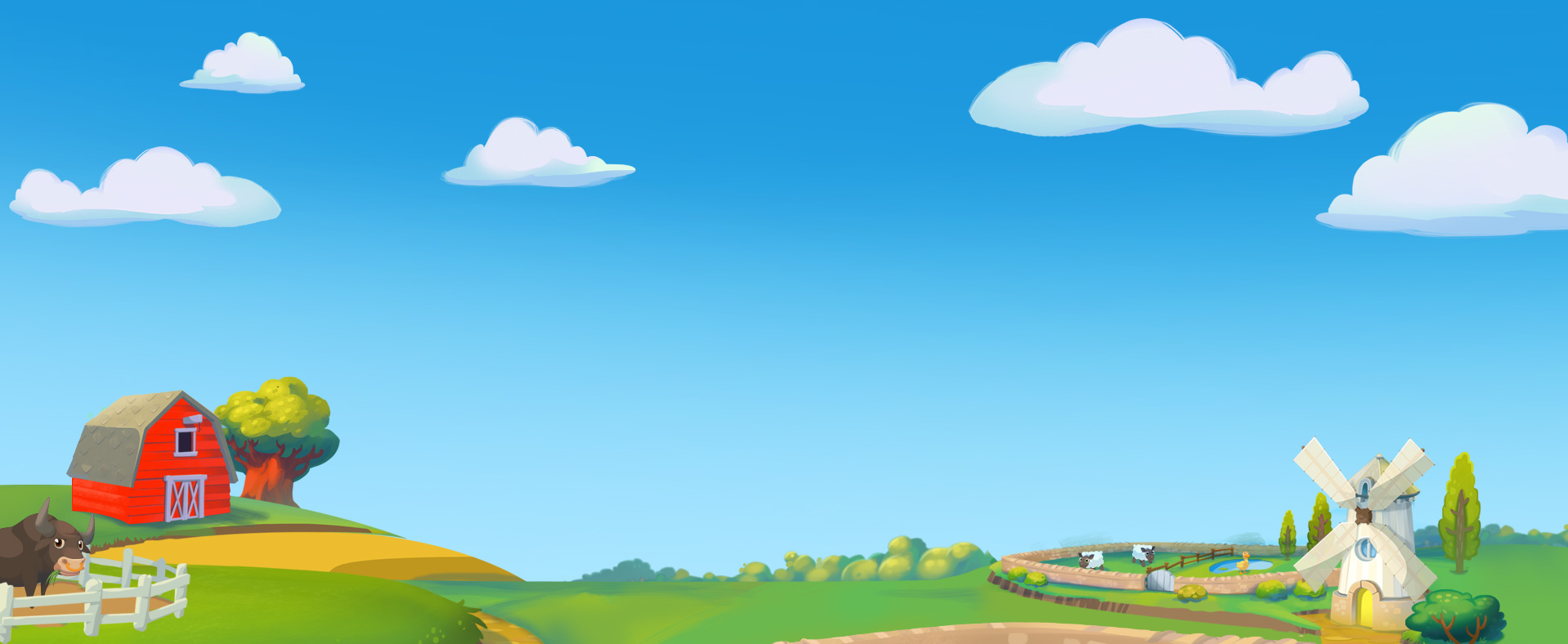 Farm Background PNG - 158143