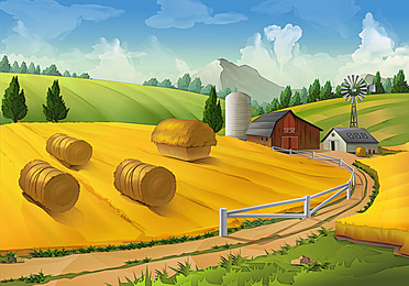 Farm Background PNG - 158127