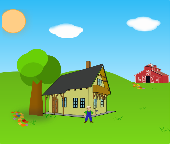 Farm Background PNG - 158125
