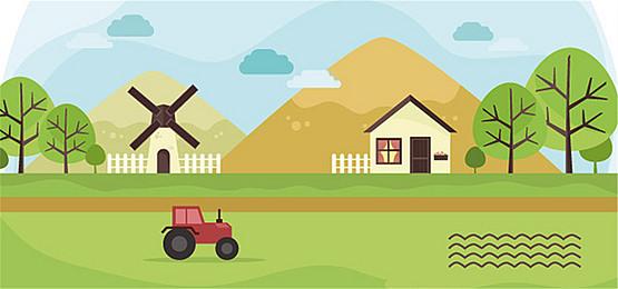 Farm Windmill Background, Farm, Windmill, Building, Background image - Farm Background PNG
