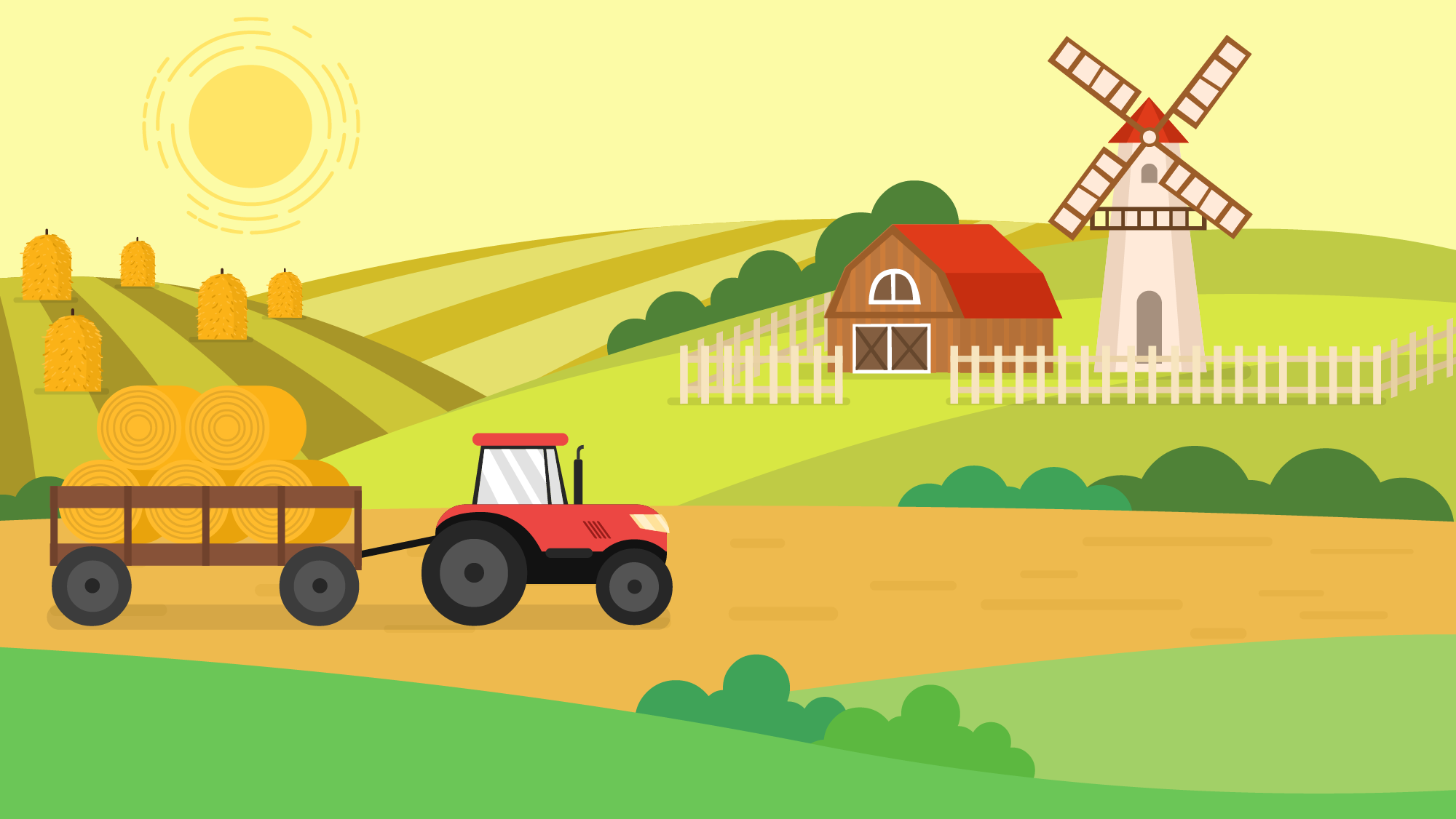 Farm Background PNG - 158134