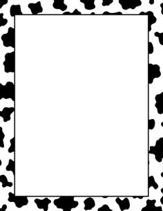 Cute Farm Border page border