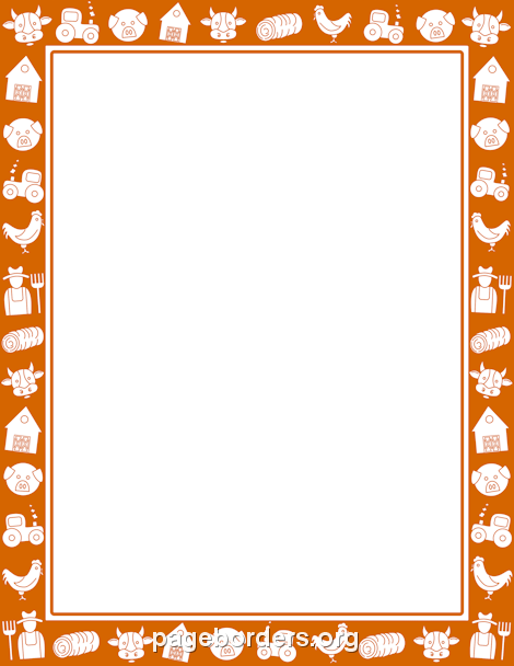 Free farm border templates including printable border paper and clip art  versions. File formats include GIF, JPG, PDF, and PNG. Vector images are  also PlusPng.com  - Farm Border PNG