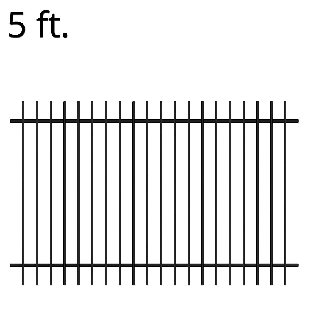Farm Fence PNG Black And White - 149935
