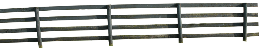 Farm Fence PNG Black And White - 149940