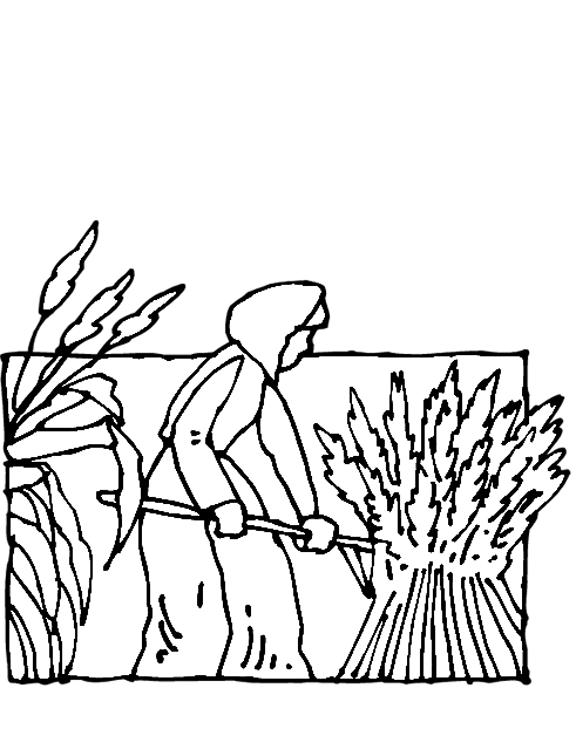 coloring pages of fields | Farm Fields PNG Black And White Transparent Farm Fields ...