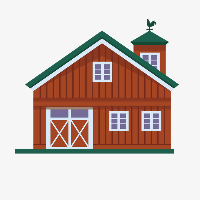 Farm House PNG HD