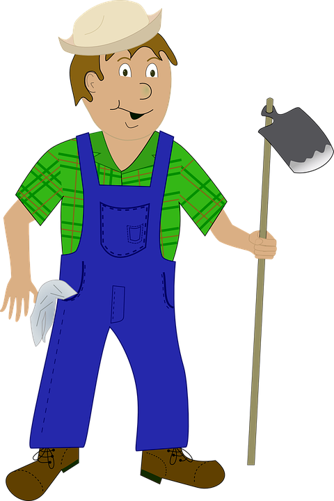Farmer Rural Worker Agriculture Farm Pick - Farmer PNG HD Images