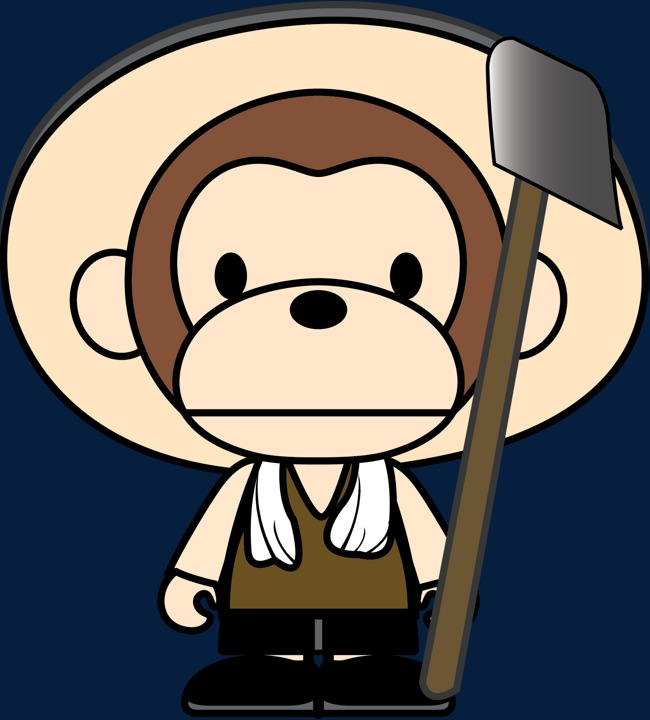 Monkey baby monkey doll farmer HD picture, Monkey Baby, Monkey Doll, Monkey  Free PNG and Vector - Farmer PNG HD Images