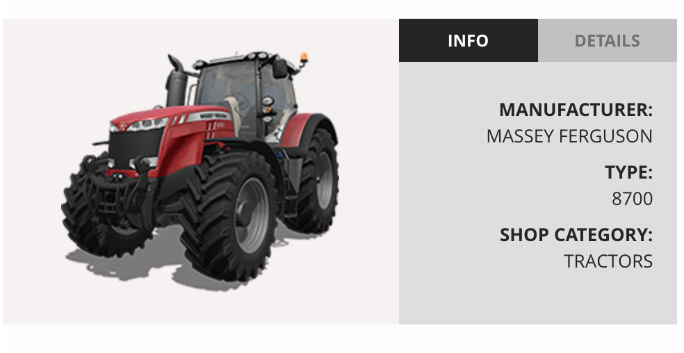 Tractors in Farming Simulator 17 (info and details) u2013 LS 2017 - Farming Simulator PNG