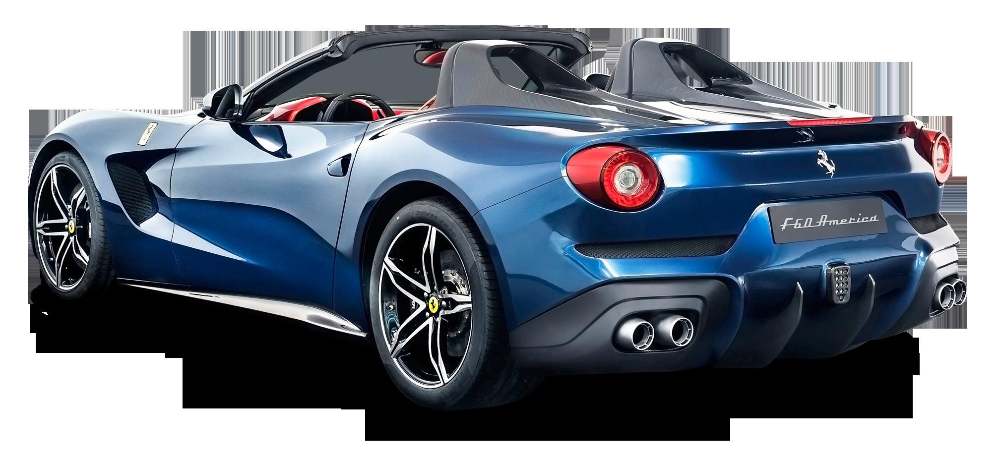 Ferrari F60 America Car PNG Image - Farrari HD PNG
