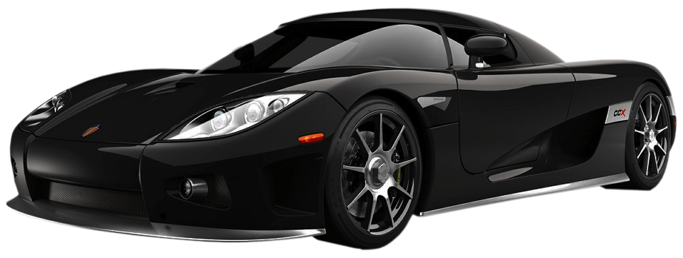 Fast Car PNG Black And White - 147656