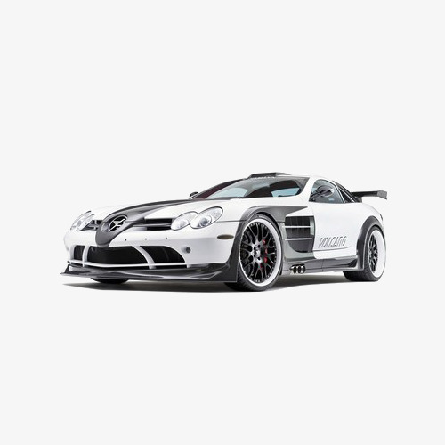 Fast Car PNG Black And White - 147667