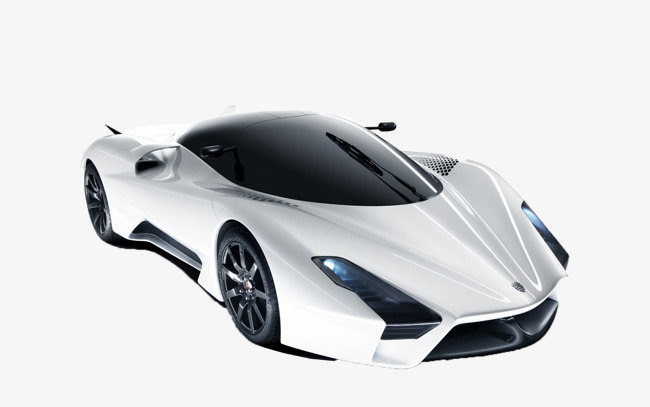Fast Car PNG Black And White - 147660