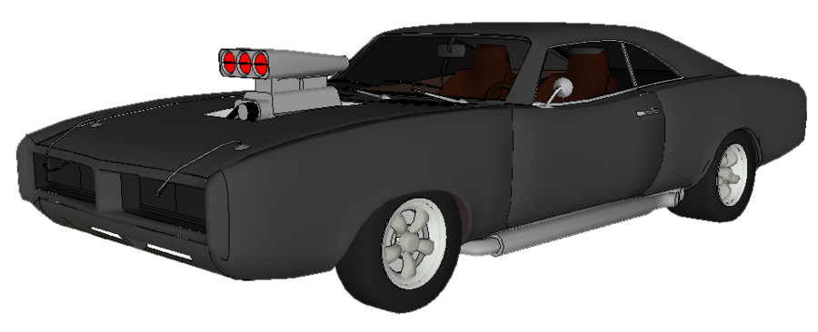 Fast Car PNG Black And White - 147668