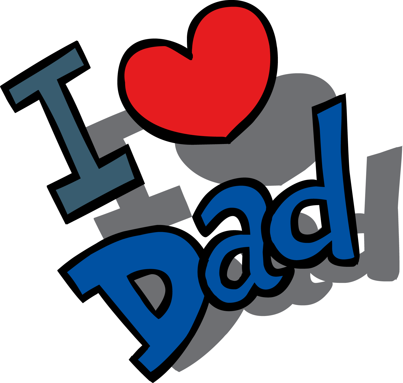 Fathers Day HD PNG - 96346