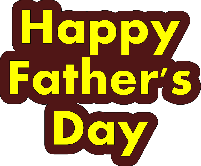 Fathers Day HD PNG - 96348
