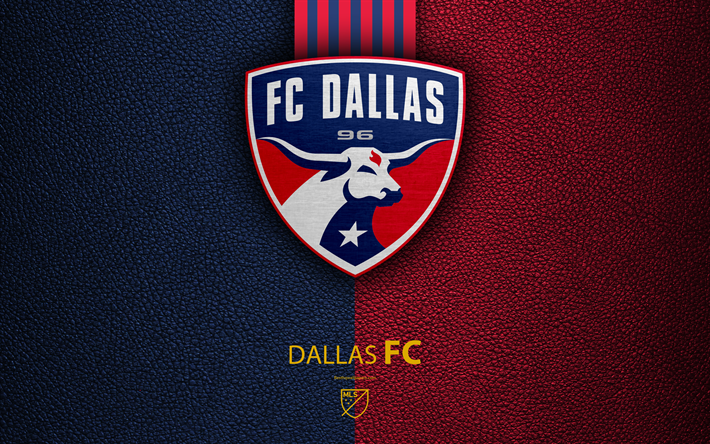 Download wallpapers FC Dallas, FC, 4K, American soccer club, MLS, leather - Fc Dallas PNG