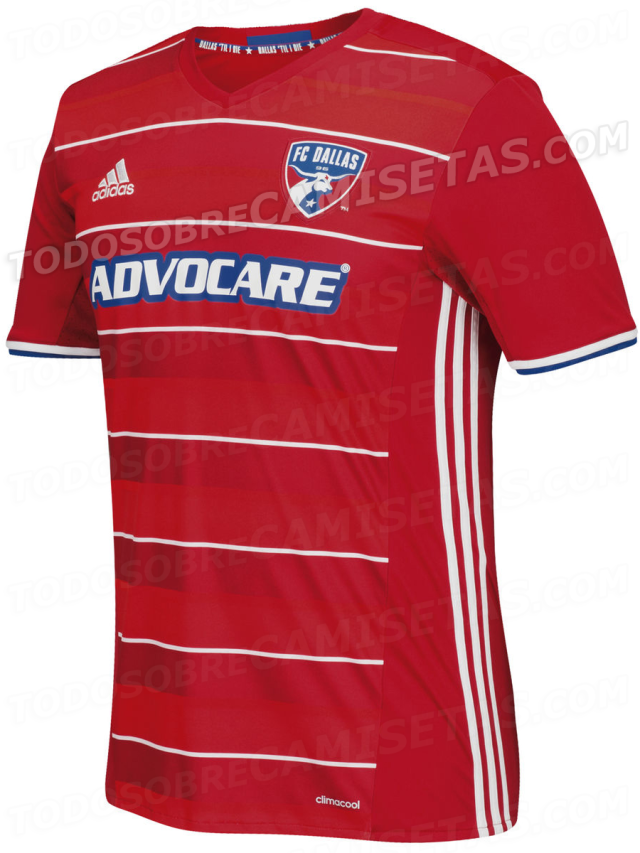 Soccer: Could this leak show the new FC Dallas 2016-17 home kit? | SportsDay - Fc Dallas PNG