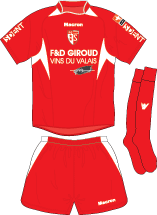 CoF Football Shirt Image - Fc Sion PNG