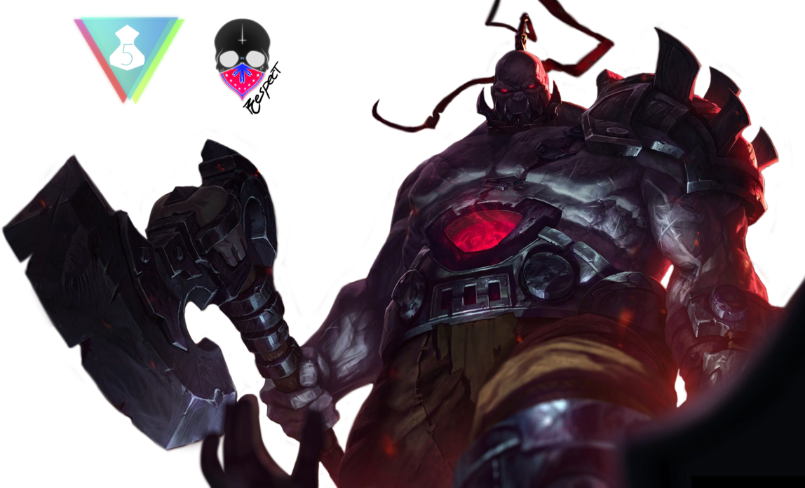 League of Legends - New Sion Render by magoshadow PlusPng.com  - Fc Sion PNG