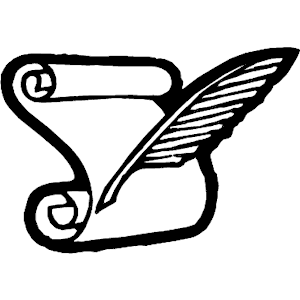 Feather Pen And Paper PNG - 72586
