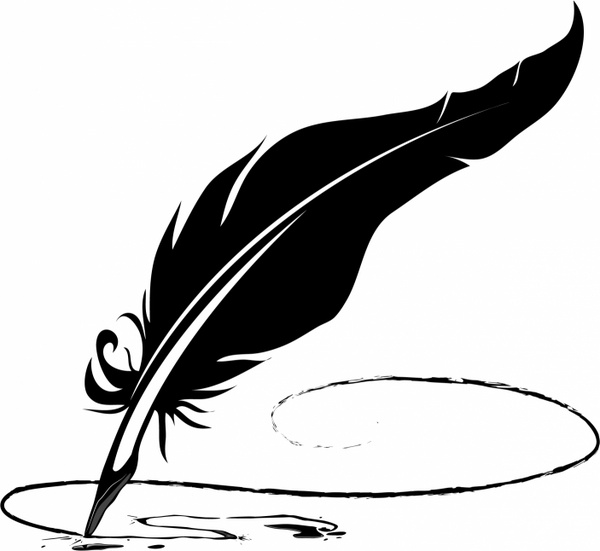 Feather Pen And Paper PNG - 72594