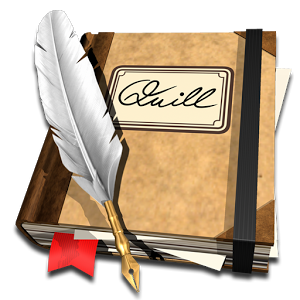Feather Pen And Paper PNG - 72593