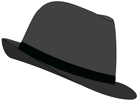 Fedora Hat gray - /clothes/hats/fedora/fedora_2/Fedora_Hat_gray.png.html - Fedora Hat PNG