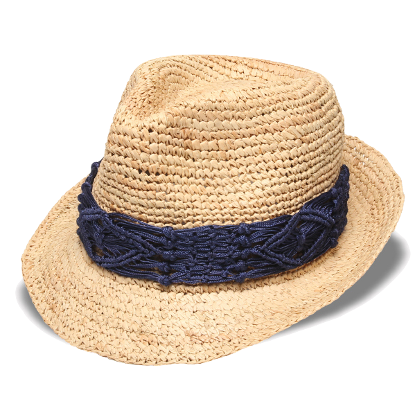 Raffia Hat PNG Photo - Fedora Hat PNG
