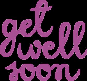Feel Better Soon PNG - 84260