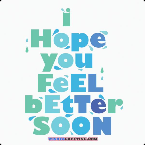 Feel Better Soon PNG - 84259