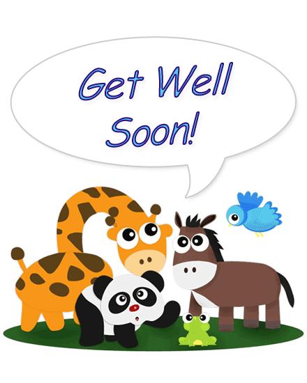 Feel Better Soon PNG - 84261