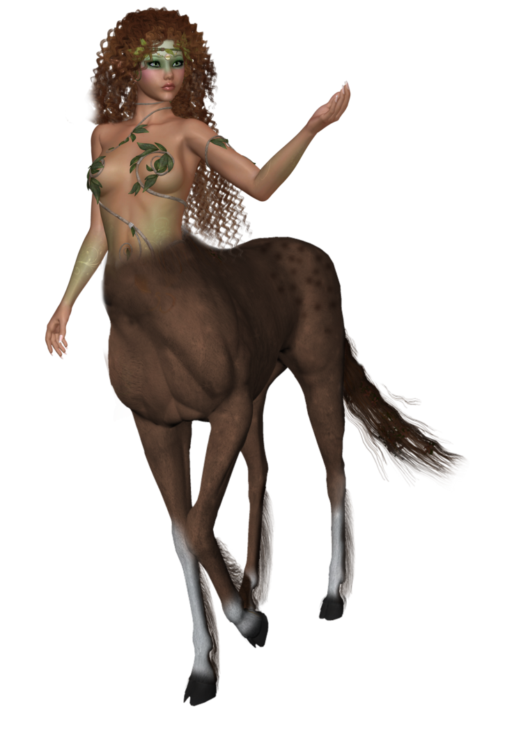 Female Centaur PNG