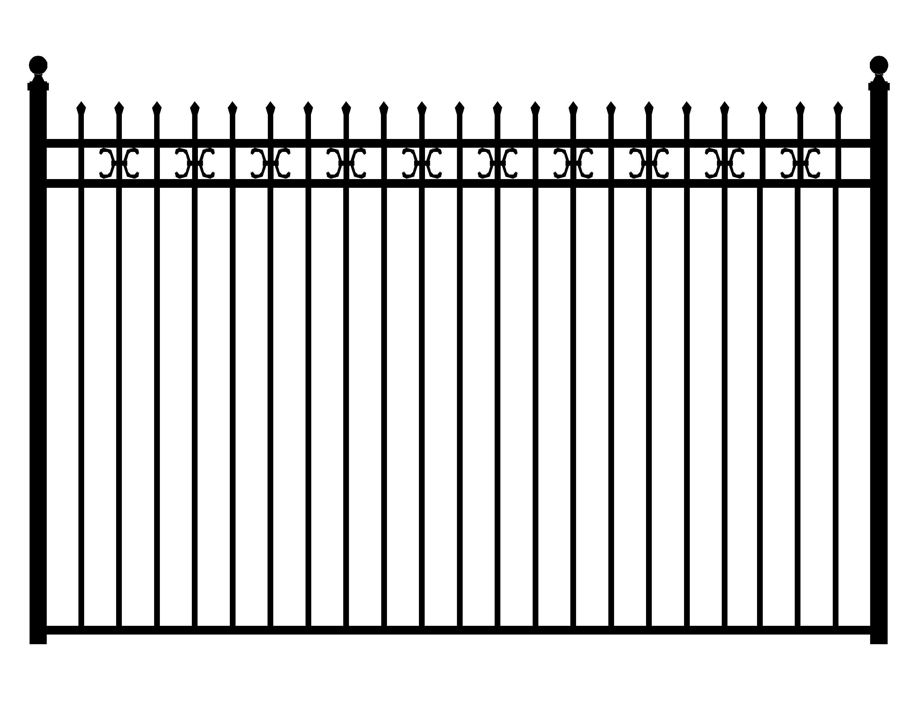 iron-fence-png-and-metal-fence-png-fence- - Fence HD PNG