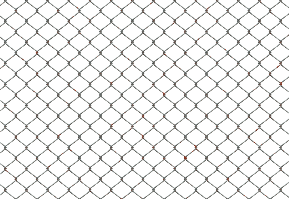 Fence, Iron Fence, Mesh, Wire Mesh, Wire Mesh Fence - Fence PNG