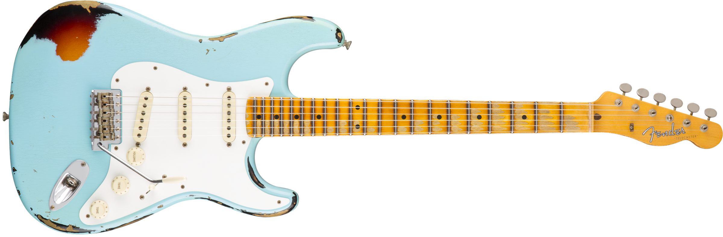 Fender Heavy Relic Mischief Maker - Fender PNG