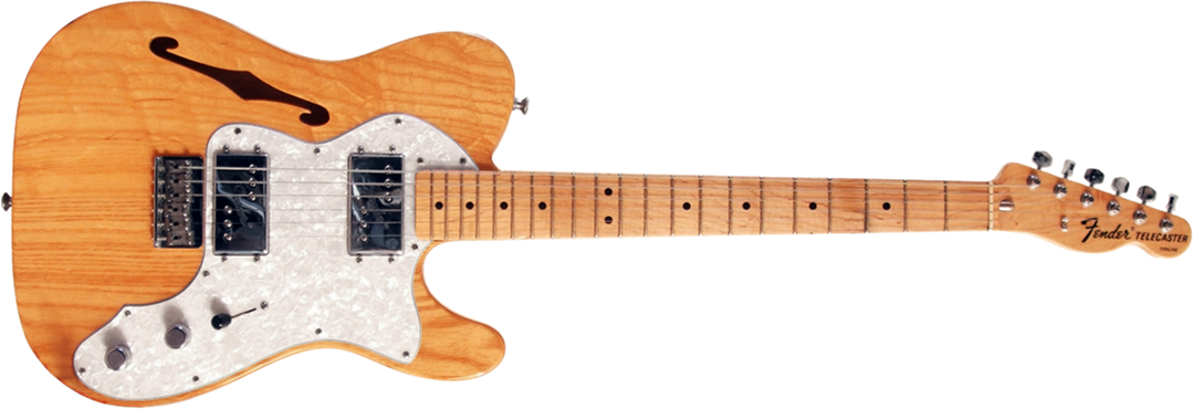 File:Fender 72 Telecaster Thinline (horizontal).png - Fender PNG