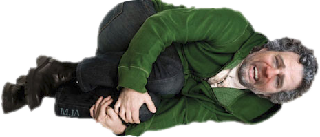 I loved it so much I made a transparent PNG out of it without her  permission! - Fetal Position PNG