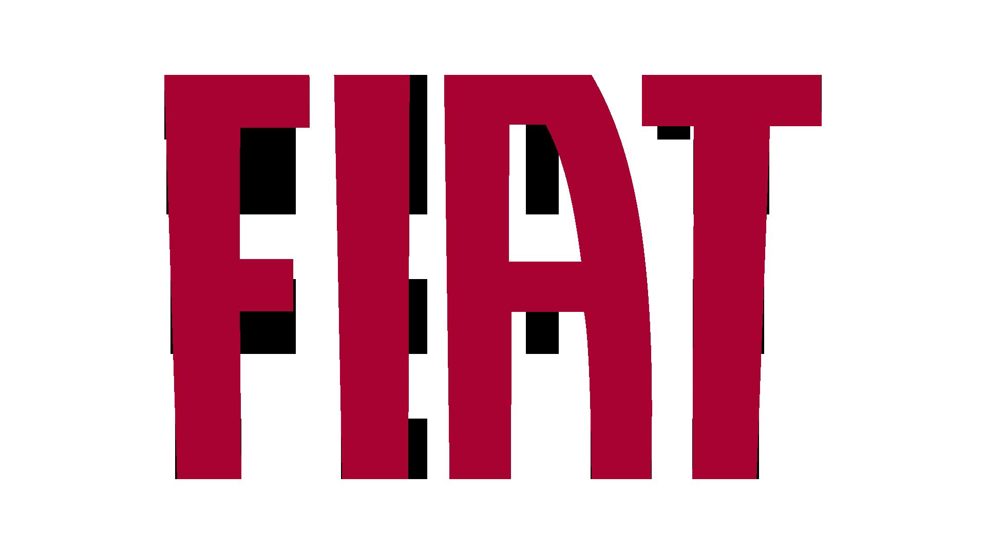 Fiat Text Logo 1920x1080 HD png - Fiat HD PNG