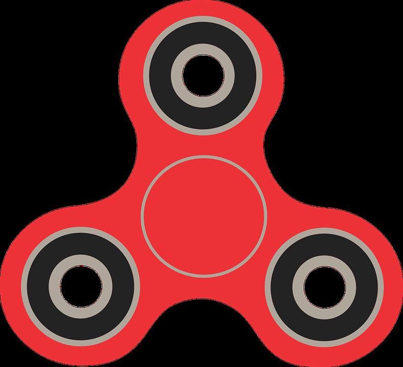Fidget Spinner, Spinner, Vector Image, Vector, Fidget - Fidget Spinner PNG