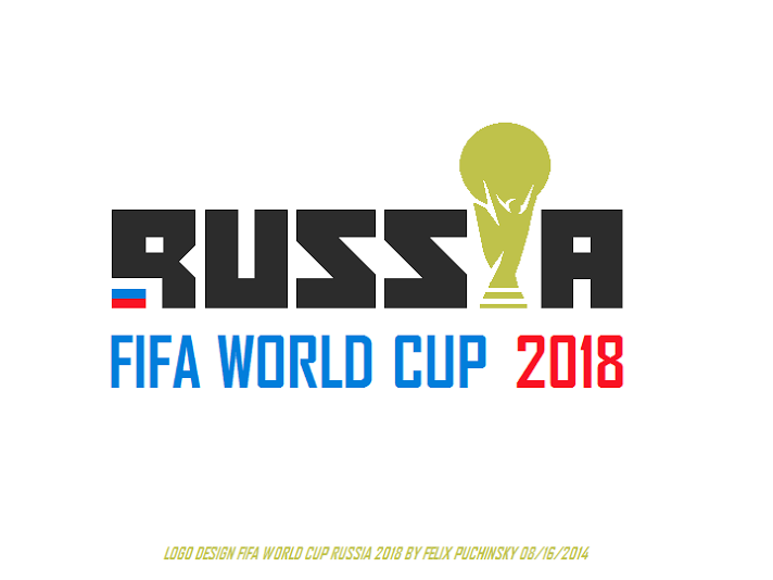 Another simple version on a logo entry for the competition for FIFA World  Cup Russia 2018 - Fifa World Cup 2018 Vector PNG