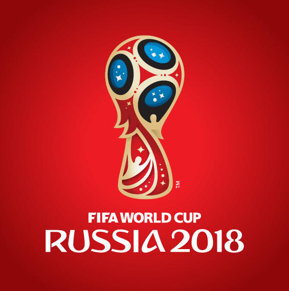 Russia 2018 Logo - Fifa World Cup 2018 Vector PNG