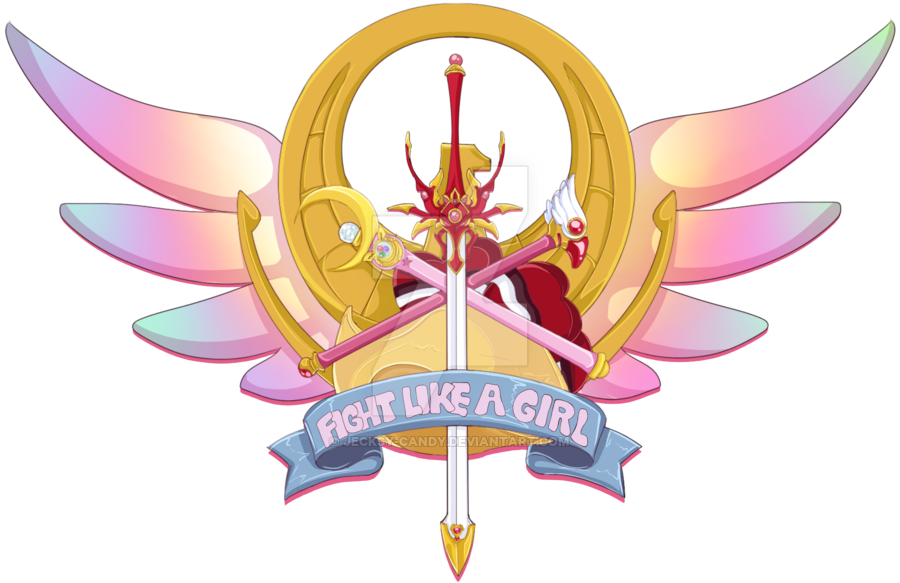 Fight Like A Girl PNG - 68965