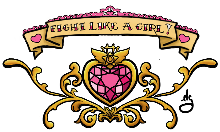 Fight Like A Girl PNG - 68969
