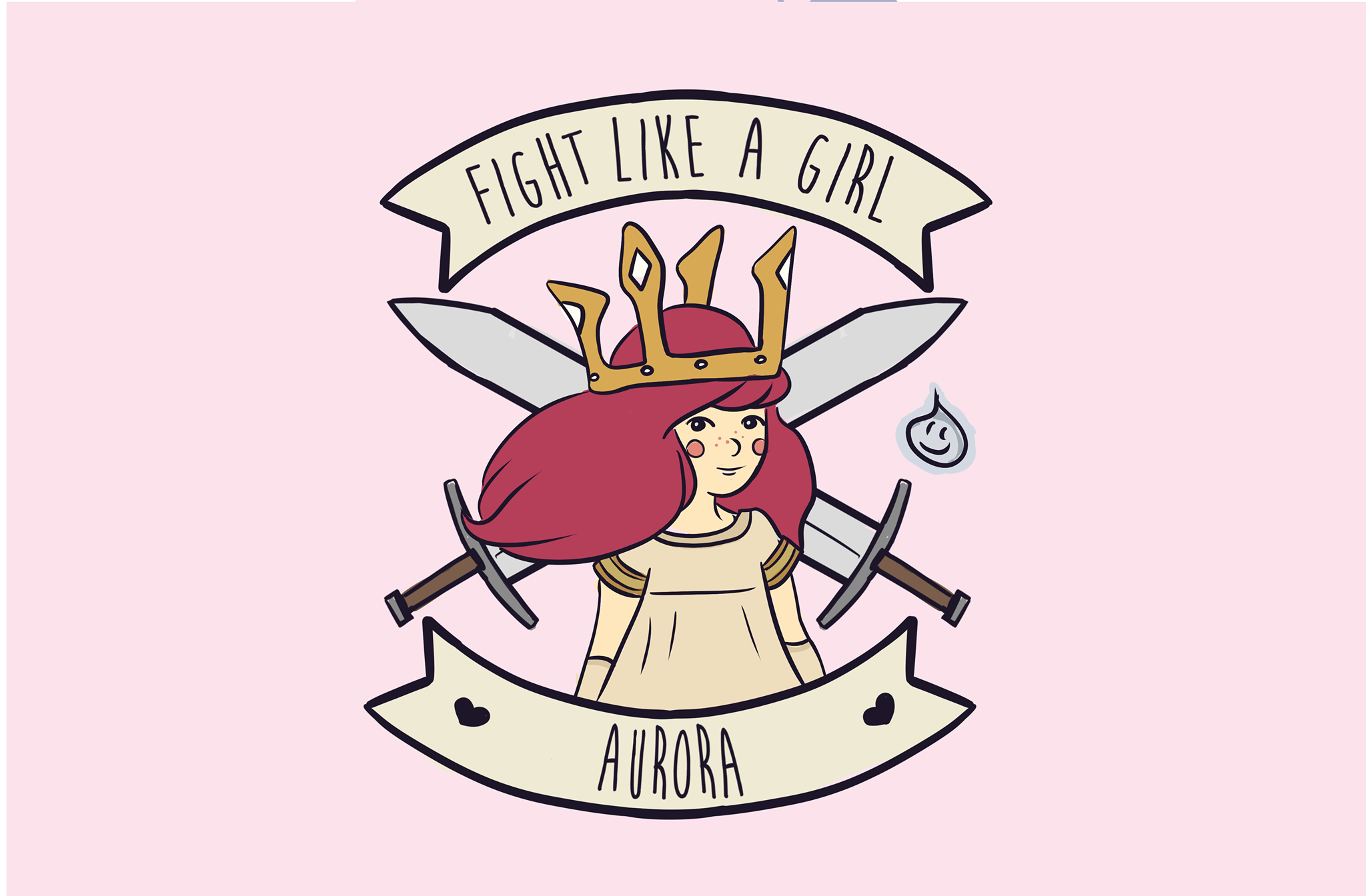 Fight Like A Girl PNG - 68960