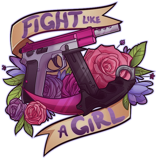 Fight Like A Girl PNG - 68958