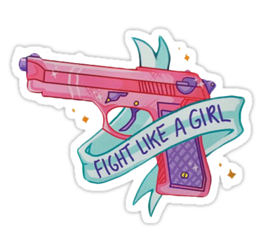 Fight Like A Girl PNG - 68961